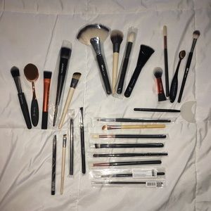Assorted Makeup Brush Set Morphe Real Techniques